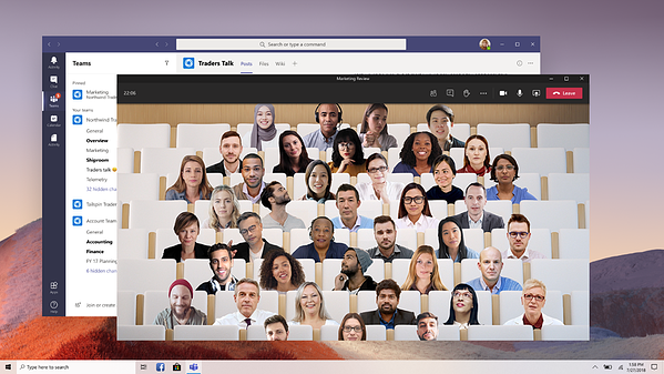 I-Experts - blog - Microsoft Teams nieuwe functies - together mode