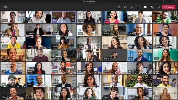 I-Experts - blog - Microsoft Teams nieuwe functies - vergadercapaciteit